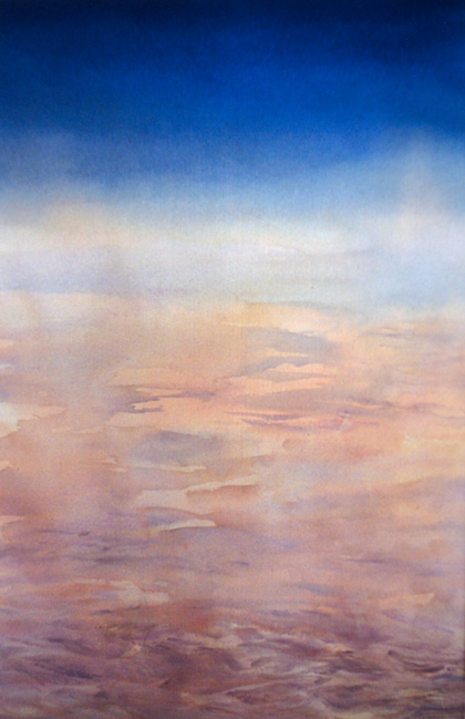 This Land, transparent watercolor by Wayne Roberts